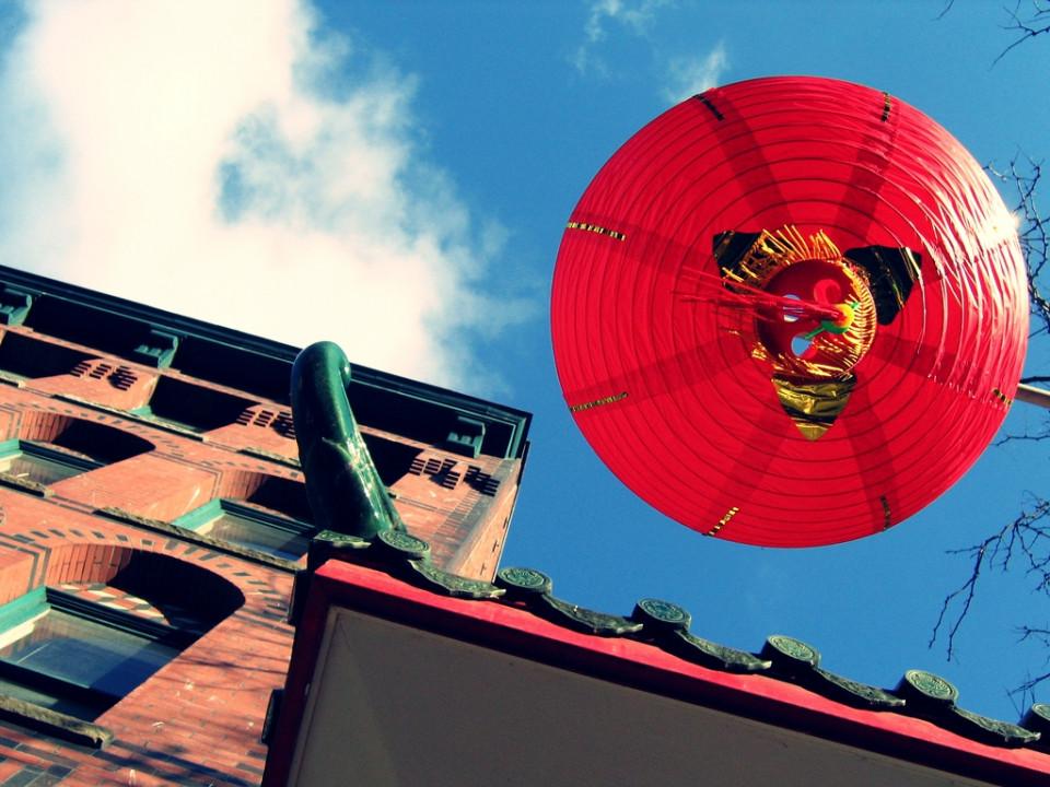 lantern hanging in CID