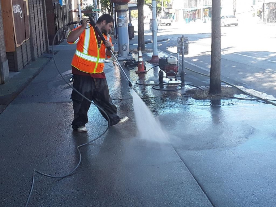 pressure washing by seattle surface cleaners